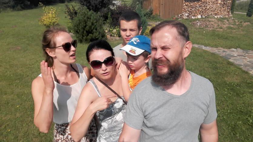 Krikštaponių šeima