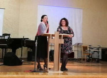 Anželika Krikštaponienė ir Gražina Bielousova